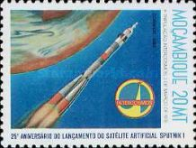 [The 25th Anniversary of First Artificial Satellite, Typ UE]
