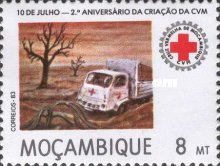 [The 2nd Anniversary of Mozambique Red Cross, type VX]