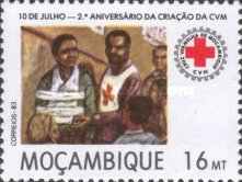 [The 2nd Anniversary of Mozambique Red Cross, type VY]