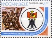 [The 1st Anniversary of Organization of Mozambican Workers, Typ XU]