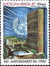 [The 40th Anniversary of the United Nations, Typ YN]