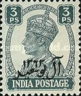 [The 200th Anniversary of Al Busaid Dynasty - India Postage Stamps Overprinted, type A]