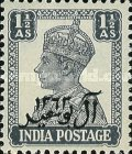 [The 200th Anniversary of Al Busaid Dynasty - India Postage Stamps Overprinted, type A4]
