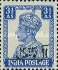 [The 200th Anniversary of Al Busaid Dynasty - India Postage Stamps Overprinted, type A7]