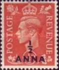 [Great Britain Postage Stamps Issues of 1950 & 1951 Surcharged, type F]