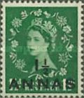[Great Britain Postage Stamps Surcharged, type G]