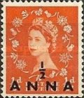 [Great Britain Postage Stamps Issue of 1952-1954 Surcharged, type I]