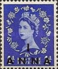 [Great Britain Postage Stamps Issue of 1952-1954 Surcharged, type I1]