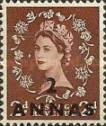 [Great Britain Postage Stamps Issue of 1952-1954 Surcharged, type I2]