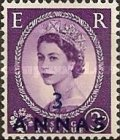 [Great Britain Postage Stamps Issue of 1952-1954 Surcharged, type I3]