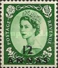 [Great Britain Postage Stamps Issue of 1952-1954 Surcharged, type I6]