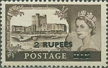 [Great Britain Postage Stamps Surcharged, type J]