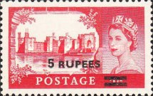 [Great Britain Postage Stamps Surcharged, type J3]