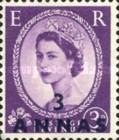 [Great Britain Postage Stamps Issue of 1955-1957 Surcharged, type K4]