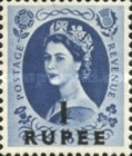 [Great Britain Postage Stamps Issue of 1955-1957 Surcharged, type K7]