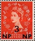 [Great Britain Postage Stamps Issue of 1955-1957 Surcharged, type L1]