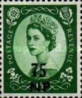 [Great Britain Postage Stamps Issue of 1955-1957 Surcharged, type L10]