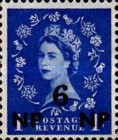 [Great Britain Postage Stamps Issue of 1955-1957 Surcharged, type L2]