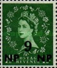 [Great Britain Postage Stamps Issue of 1955-1957 Surcharged, type L3]