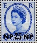 [Great Britain Postage Stamps Issue of 1955-1957 Surcharged, type L7]
