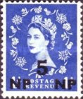 [Great Britain Postage Stamps Surcharged, type N2]