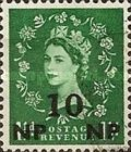 [Great Britain Postage Stamps Surcharged, type N4]
