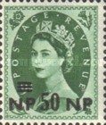 [Great Britain Postage Stamps Overprinted, type O2]