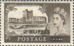 [Great Britain Postage Stamps Overprinted, type O5]