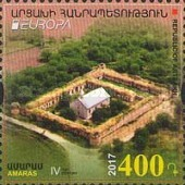 [EUROPA Stamps -  Palaces and Castles, Typ DR]