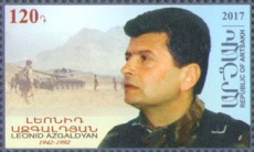 [The 75th Anniversary of the Birth of Leonid Azgaldyan, 1942-1992, Typ EH]