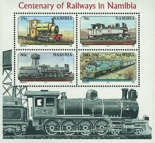 [The 100th Anniversary of Railways in Namibia, type ]