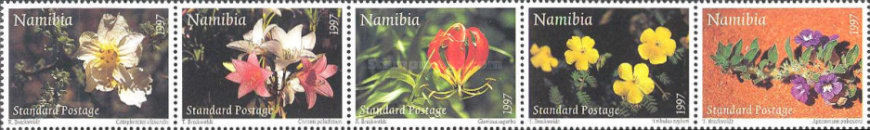 [Greeting Stamps - Flowers, type ]