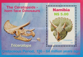 [Youth Philately - Dinosaurs, type ]