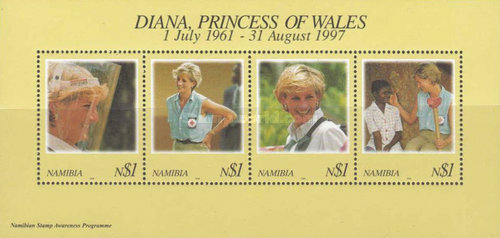 [Diana, Princess of Wales Commemoration, type ]