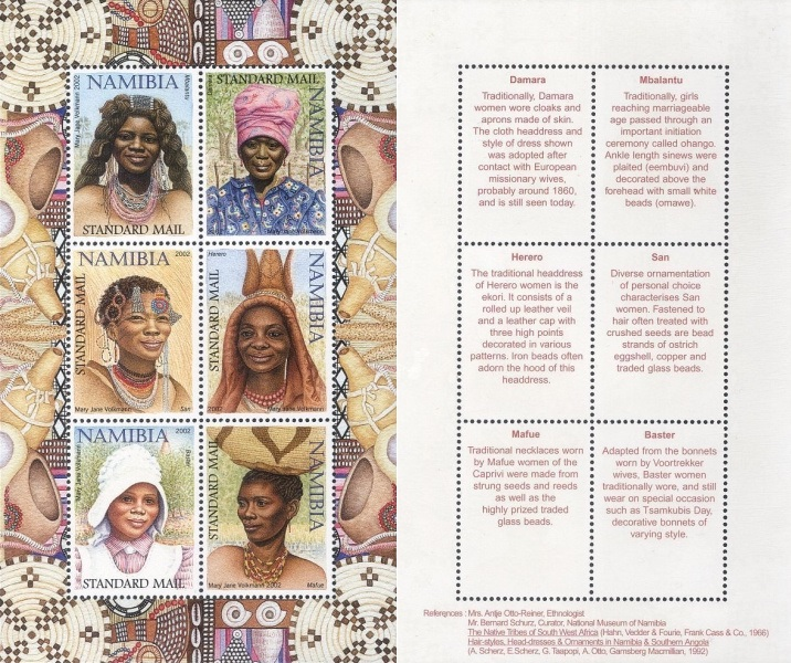 [Traditional Women's Hairstyles and Headdresses - Corrected Issue, Typ ]