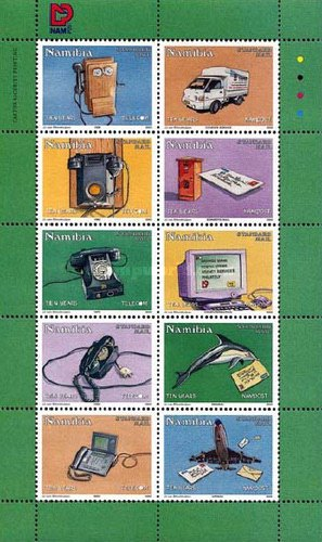 [The 10th Anniversary of Nampost and Telecommunication, type ]