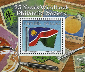 [The 25th Anniversary of the Windhoek Philatelic Society, Typ ]
