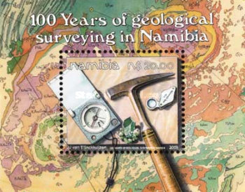 [The 100th Anniversary of Geological Survey, Typ ]