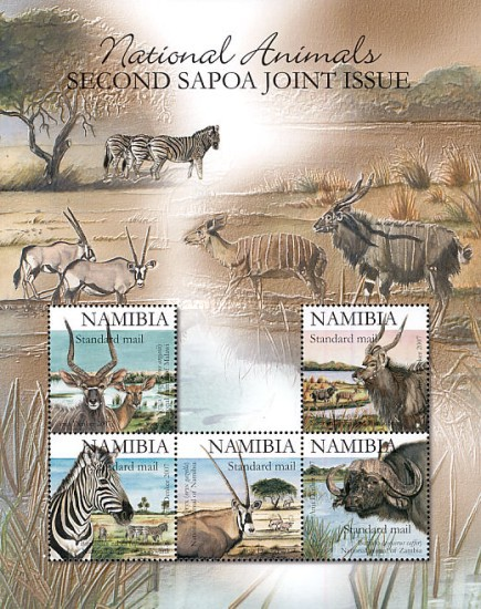 [African Fauna - The Second SAPOA Joint Issue, Typ ]