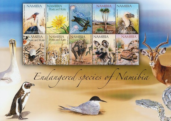 [Endangered Species of Namibia, Typ ]