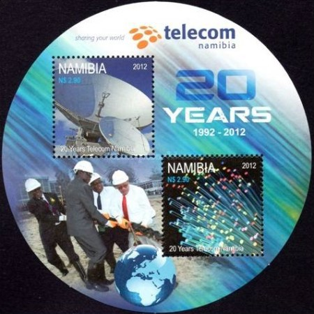 [The 20th Anniversary of TELECOM Namibia, Typ ]