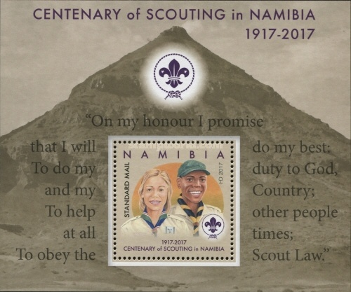 [The 100th Anniversary of Scouting in Namibia, type ]