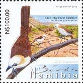 [Birds of Namibia, Typ AAX]