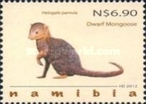 [Fauna - Mongooses of Namibia, type ABT]