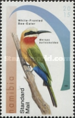 [Birds - Bee-Eaters of Namibia, type AEQ]