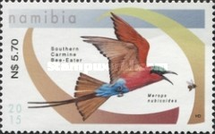 [Birds - Bee-Eaters of Namibia, type AER]