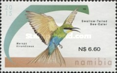 [Birds - Bee-Eaters of Namibia, type AES]