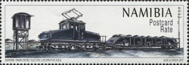 [Diamond Trains of Namibia, type AGU]