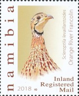 [Birds - Francolins and Spurfowls of Namibia, Typ AHO]