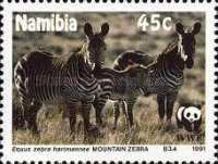 [Endangered Species - Mountain Zebra, type AK]